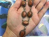 Натуральний авантюрин намисто з авантюрином золотий пісок, фото 3