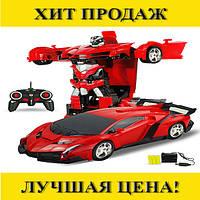 Трансформер-радиоуправляемая машинка Robot Car