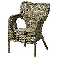 ✅ IKEA BYHOLMA (601.583.04) Кресло, серый