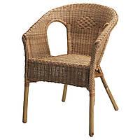 ✅ IKEA AGEN (500.583.76) Стул, ротанга, бамбука