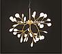 Люстра подвес лофт 887/36 GD (36 лампочек), фото 3
