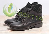 Кожаные женские туфли весна-осень Sothbys Б-559/2  36-40 размеры, фото 1