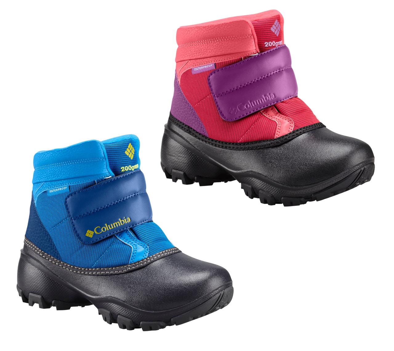 Ботинки зимние детские Columbia Kids Rope Tow Kruser сапоги непромокаемые 0b3efac333fdc