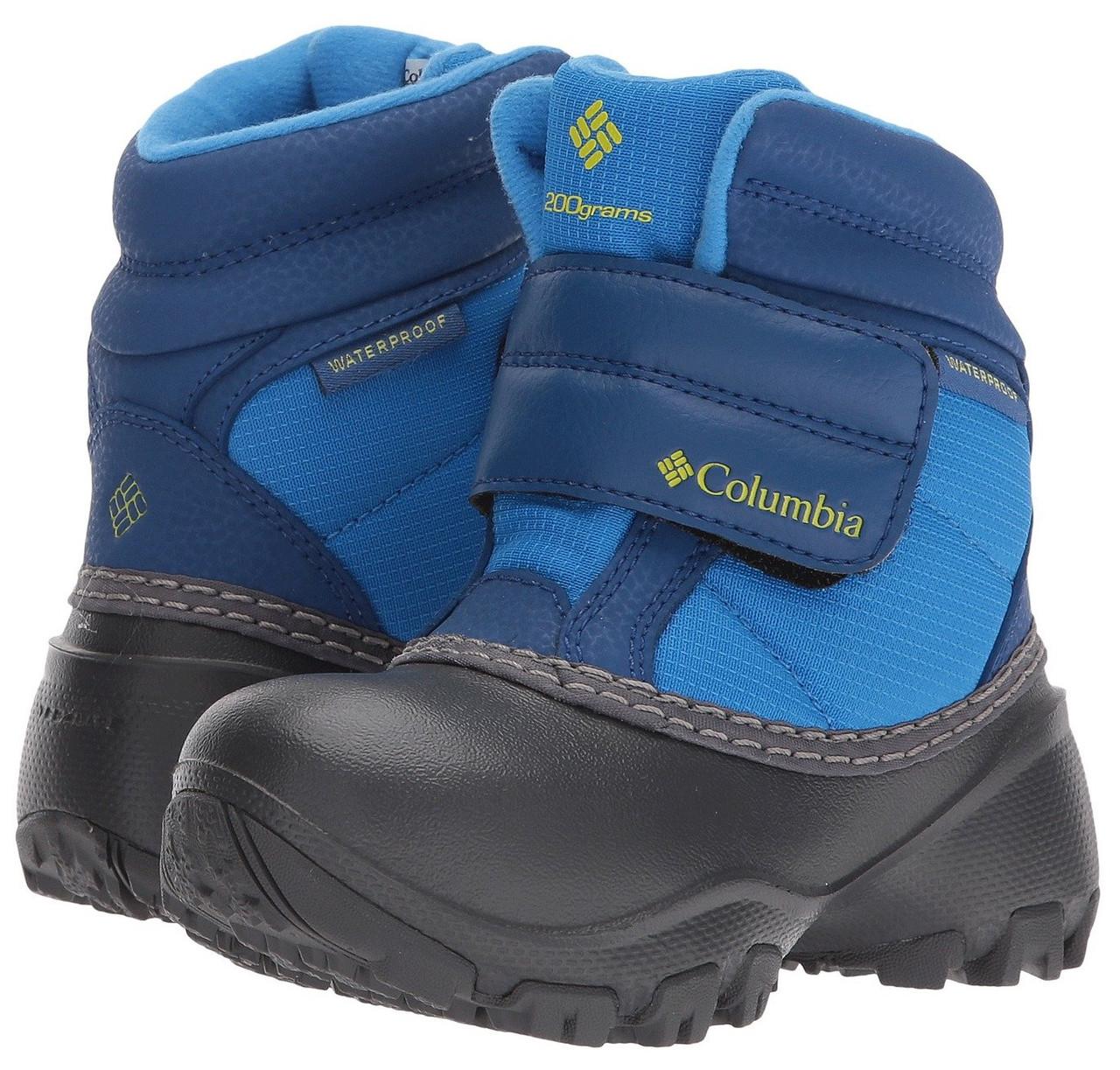 57be7ff6d ... Ботинки зимние детские Columbia Kids Rope Tow Kruser сапоги  непромокаемые, фото 3