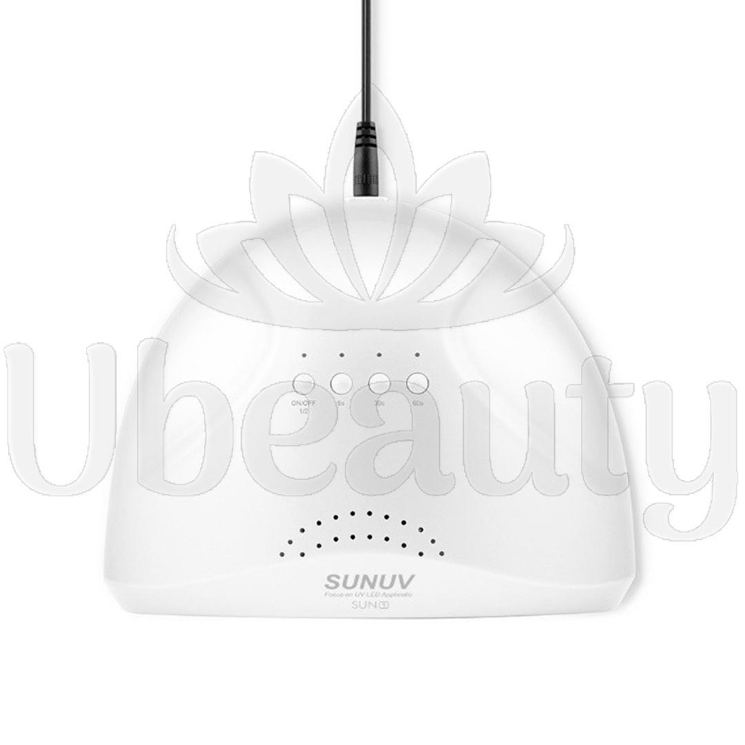 Лампа для сушки ногтей SUNUV Sun One(белая) Оригинал, LED+UV, 48W/24W.