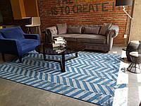 Современные натуральные модерн ковры из тонкой вискозы