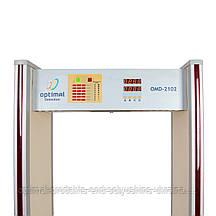 Стационарный проходной арочный металлодетектор OMD-2102