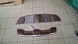 Накладка на передний и задний бампера BMW X6, фото 5