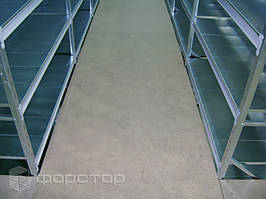 Межэтажные перекрытия — листы ДСП.