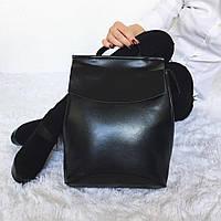 Сумка рюкзак трансформер кожаный , Кожаные женские рюкзаки женская сумка кожа натуральная Приятные цены, фото 1