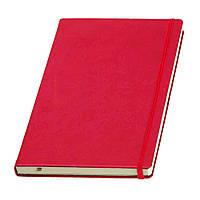 Записна книжка Туксон червона FLEX А5 Ivory Line, Італія, 4 кольори під нанесення логотипів
