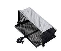 Столик з тентом і кріпленням до платформи Flagman side tray 405x335mm D36mm, фото 1