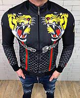 Мужская крутая куртка ✨ 🎉 Высочайшее качество,приятные к телу, приталенные.  Состав: Коттон 95% Эластан