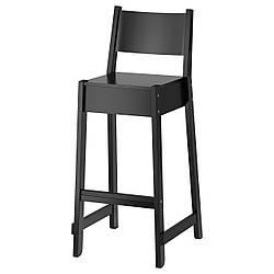 ✅ IKEA NORRAKER (503.015.24) Барный стул/спинка, черный