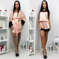 Комплект женский комбез +халат ЧУ341