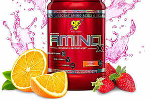 BSN Amino X 435г - strawberry orange