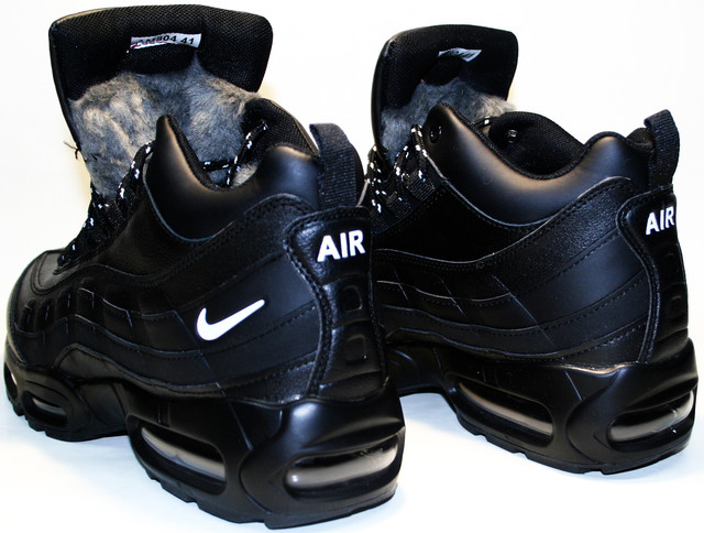 Зимние кроссовки с мехом Nike Air Max
