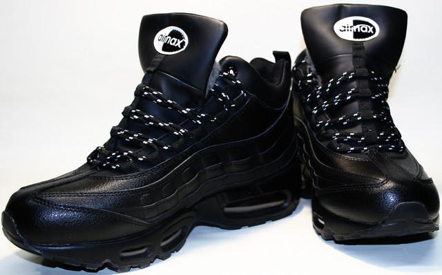Зимние кроссовки Nike с мехом