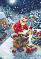 Набор для вышивания крестиком B577 Дед Мороз