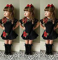 Нарядное платье для девочки 5-14 лет