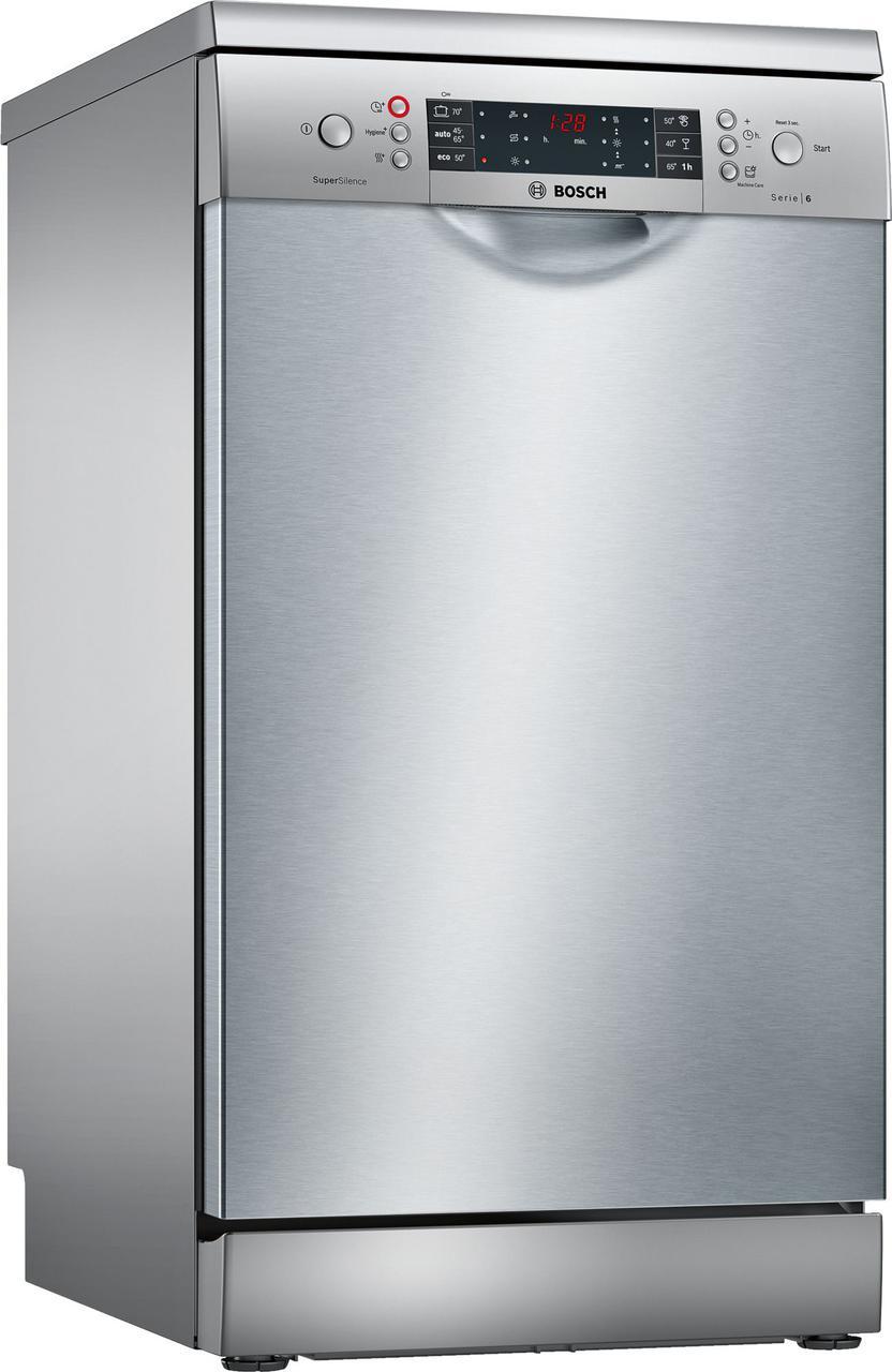 Узкая отдельно стоящая посудомоечная машина Bosch SPS66TI00E