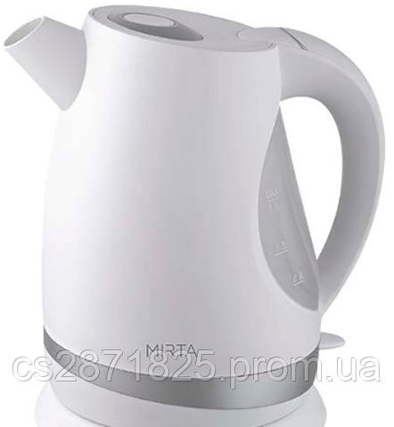 "Чайник электрический 1,7л. 2000Вт КТ-1035W ""Mirta"" быт/KT-1035W/"