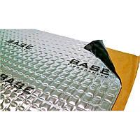 Виброшумоизоляция для авто вибропоглощающий лист BASE 2,0 (750*470мм) шумоизоляция,обесшумка,виброизоляция