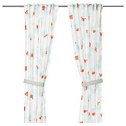 ✅ IKEA STJARNBILD (303.196.19) Занавес с креплением, 2 шт., Белый