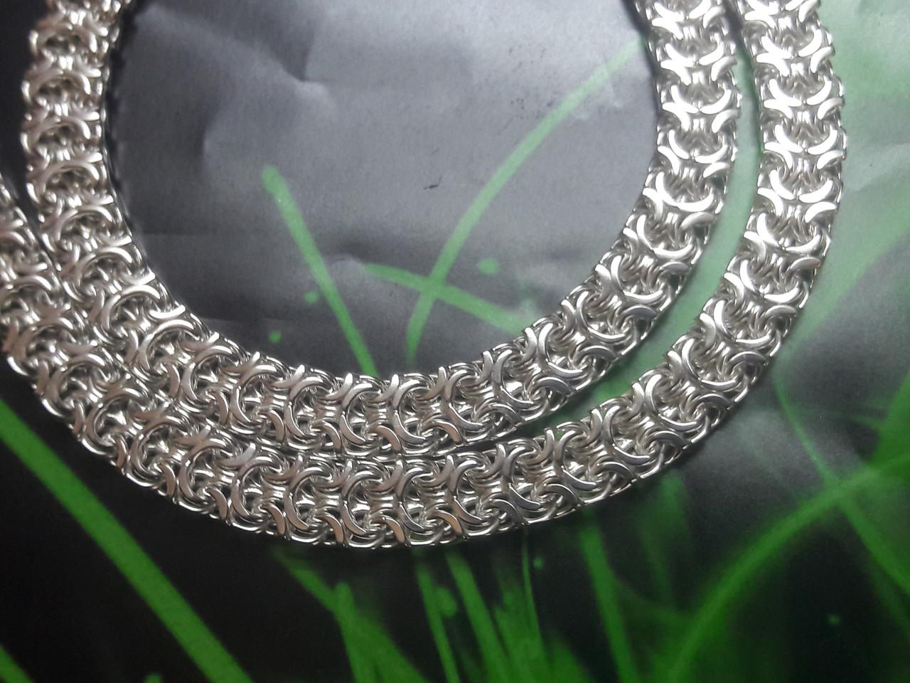 Серебряная цепочка Рамзес