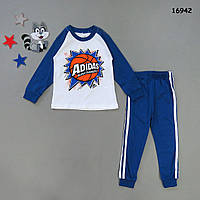 Пижама Adidas для мальчика. 4, 5, 6, 7 лет, фото 1