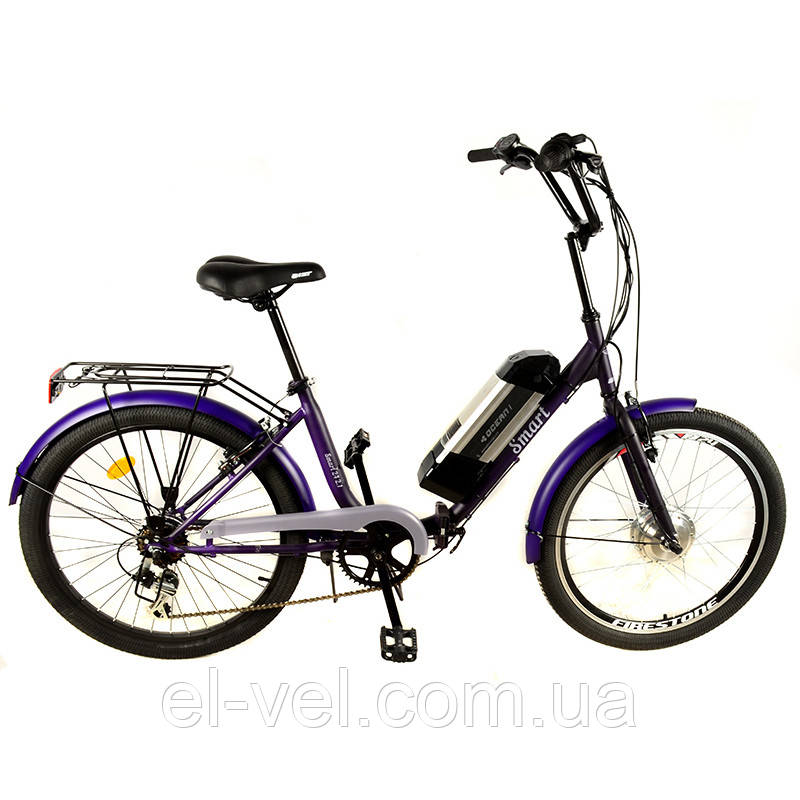 Електровелосипед ЛЕЛЕКА Люкс SMART24 XF04 LED900S 36В 300Вт літієва батарея
