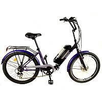 Електровелосипед ЛЕЛЕКА Люкс SMART24 XF04 LED900S 36В 300Вт літієва батарея, фото 1