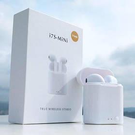 Беспроводные Bluetooth наушники с микрофоном I7s TWS Bluetooth mini с магнитным кейсом аналог AirPod Apple