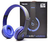 Беспроводные наушники Monster Beats Solo 2 by Dr.Dre Black Blue STN-19 b450bae02c525