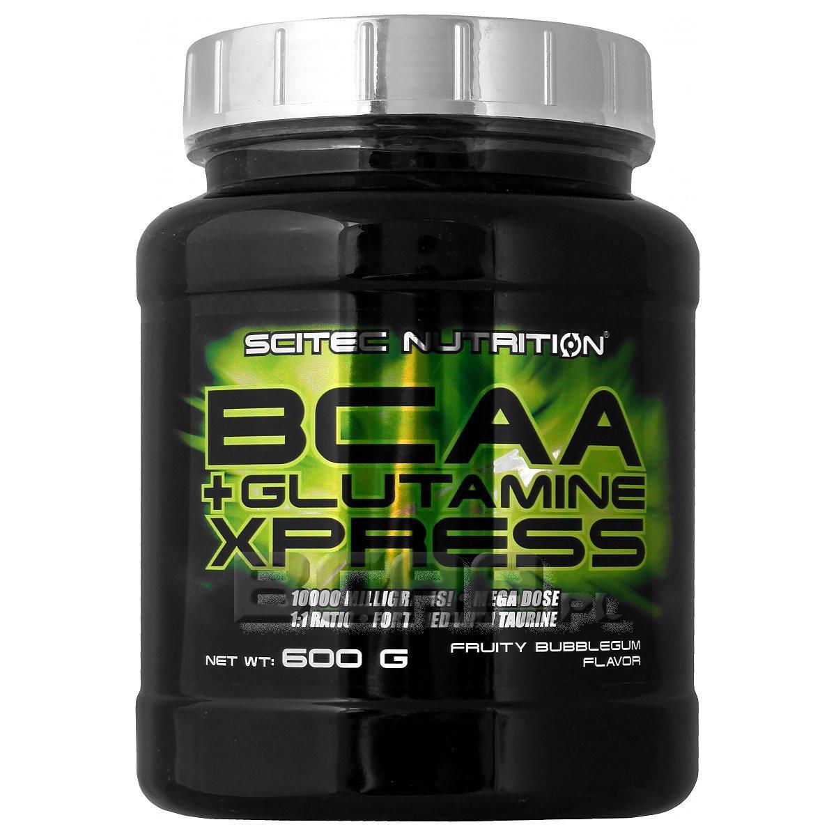 SN BCAA + Glutamine Xpress 600 г - apple