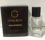 Тестер в подарочной упаковке jeanmishel loveGuilty 60мл, фото 2