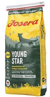 Сухой корм Йозера Йонг Стар (Josera Young Star) для растущих собак, 15 кг