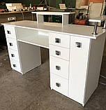 Професійний манікюрний стіл з підставкою для рук V270, фото 2