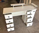 Професійний манікюрний стіл з підставкою для рук V270, фото 3