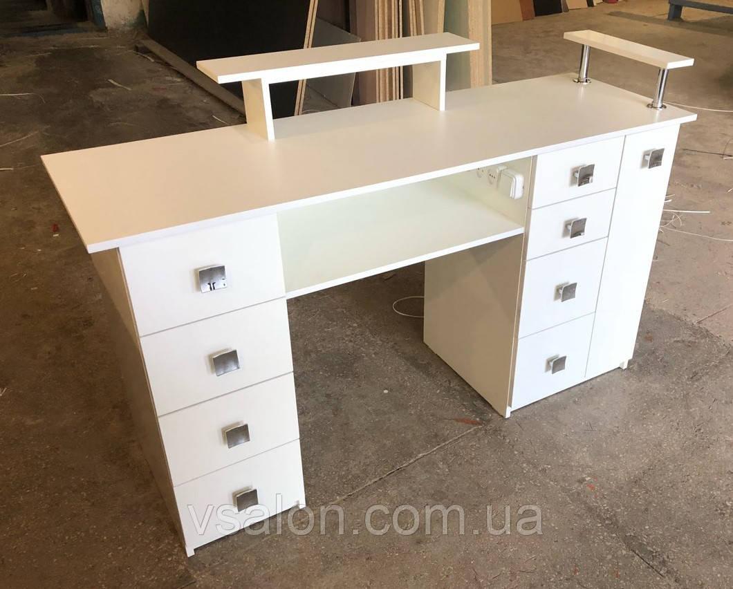Професійний манікюрний стіл з підставкою для рук V270