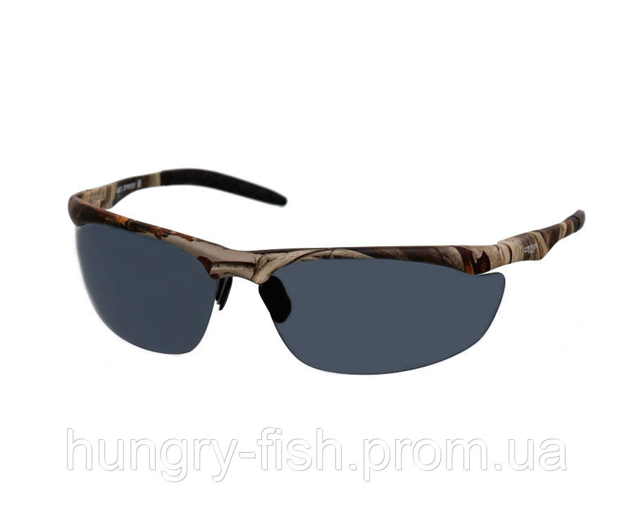 Поляризационные очки Carp Pro серые+чехол+салфетка