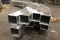 Труба  профильная алюминиевая 25х25х2,0 АД31 Т5