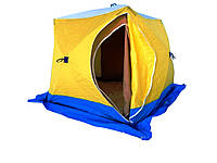 Палатка для зимней рыбалки СТЭК КУБ-3 ((двухслойная)