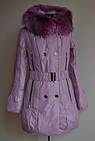 Куртка пуховик полупальто Shenowa размер L,XL, зима, фото 1