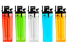 Зажигалка кремневая прозрачная