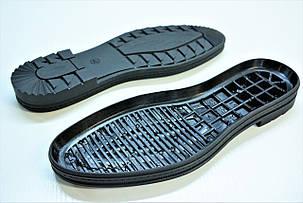 Подошва для обуви мужская 5636 чорн р.40-45, фото 2