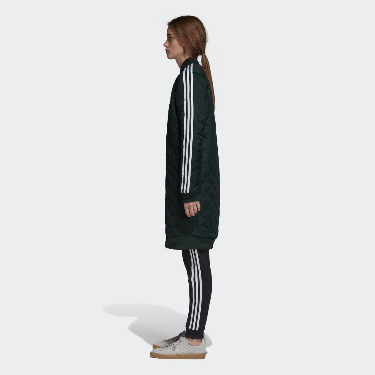 c092e86d7886 Купить Женская куртка Adidas Originals Long Bomber (Артикул  DH4592 ...