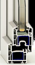 Розширення асортименту - вікна та двері з профілю PrimePlast 4K (Hoffen).