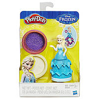 Набор пластилина Play-Doh Принцесса Диснея Эльза Плей До Princess Frozen Elsa B2741, фото 1