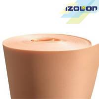 Цветной изолон 500 3002, 2 мм, 1 м персиковый